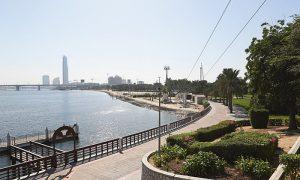 نهر دبی امارات