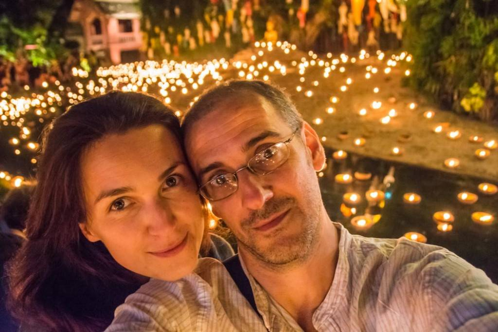 فستیوال بالن چانگ مای ( مانند چهارشنبه سوری )
