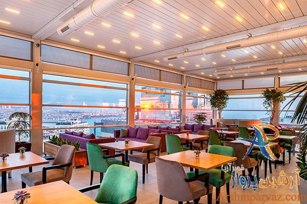 رستوران هتل تکسیم لانژ استانبول