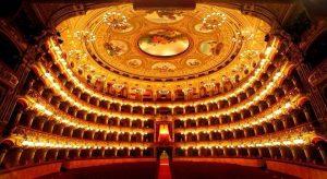 سالن تئاتر بولشوی روسیه
