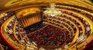 سالن تئاتر بولشوی در روسیه