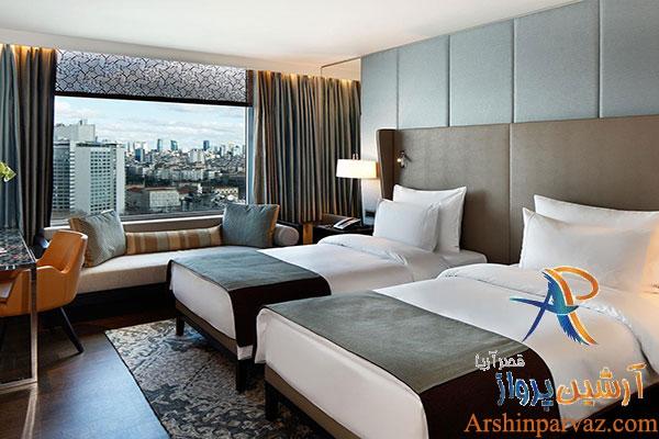 اتاق های هتل مارمارا