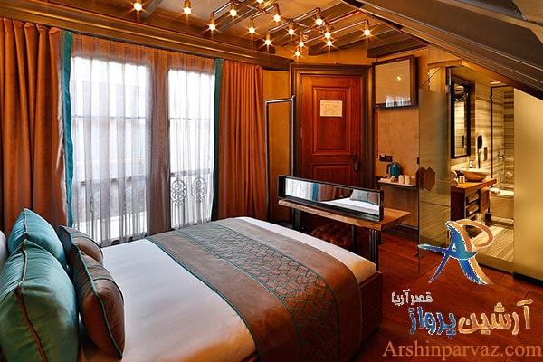 اتاق های هتل سانات پرا