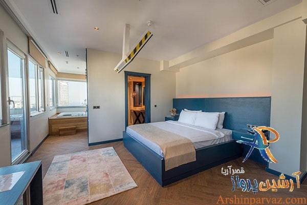 اتاق های هتل سمینال
