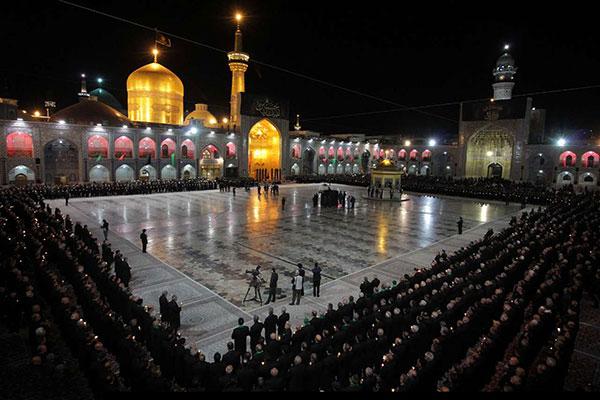 مراسم خطبه خوانی در مشهد