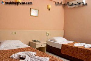 هتل کلاب هراکلس آنتالیا ترکیه