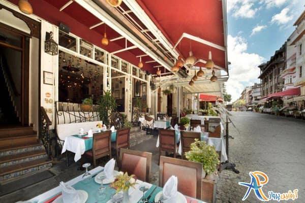 رستوران تورکواز گورمه استانبول
