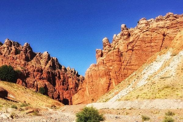دره هفت غار مشهد