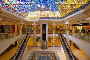 مرکز خرید وافی دبی wafi mall dubai