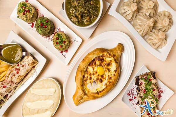 خورد و خوراک در گرجستان