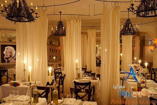 فضای داخلی رستوران نیکول