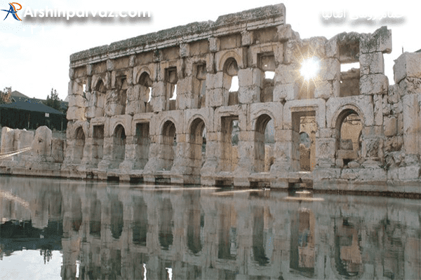 حمام-باستانی-رومی-در-شهر-آنتالیا